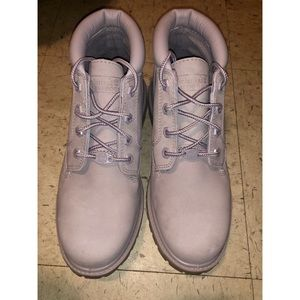Purple Women's Timberland Boots